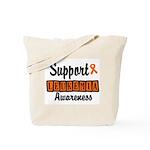 Support Leukemia Awareness Tote Bag