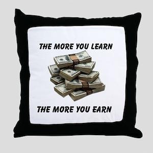 BIG BUCKS Throw Pillow