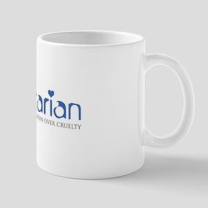 Vegetarian - Compassion Over Cruelty Mug