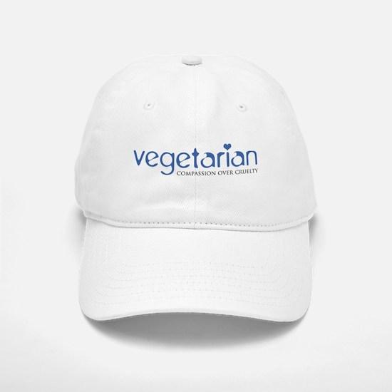 Vegetarian - Compassion Over Cruelty Baseball Baseball Cap