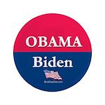 """""""Obama-Biden"""" 3.5"""" Button (100)"""