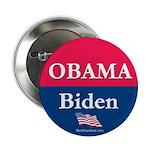 """""""Obama-Biden"""" 2.25"""" Button (10)"""