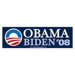 """""""Obama-Biden 2008"""" Bumper Sticker (10)"""