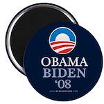 """Obama-Biden 08"" 2.25"" Magnet (10)"