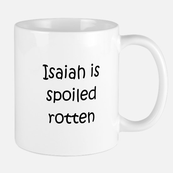 Unique Baby isaiah Mug