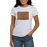 Will Swim for Food Women's T-Shirt