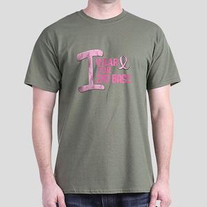 I Wear Pink For 2nd Base 21 Dark T-Shirt