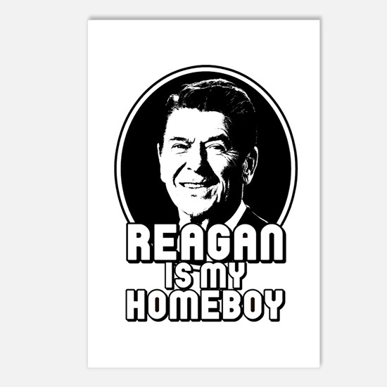 Ronald Reagan Is My Homeboy Postcards (Package of