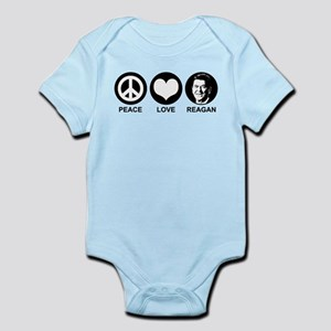 Peace Love Reagan Infant Bodysuit