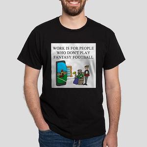fantasy football fun gifts t- Dark T-Shirt