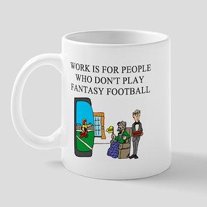 fantasy football fun gifts t- Mug