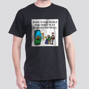 fantasy football fun gifts t- Dark T-Shirt