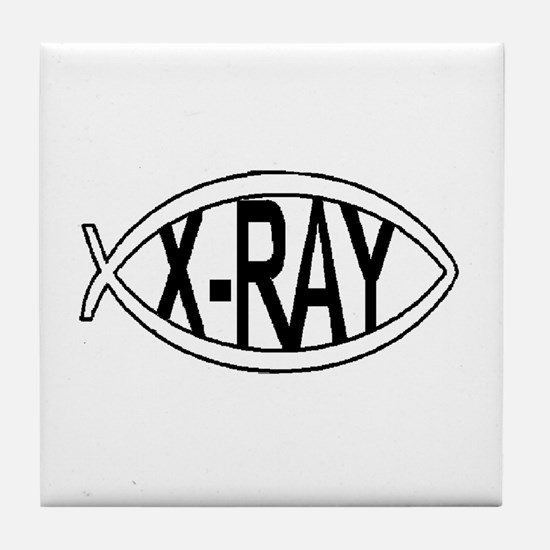 X ray tech Tile Coaster
