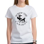 Screw Caribou (Drill Alaska) Women's T-Shirt