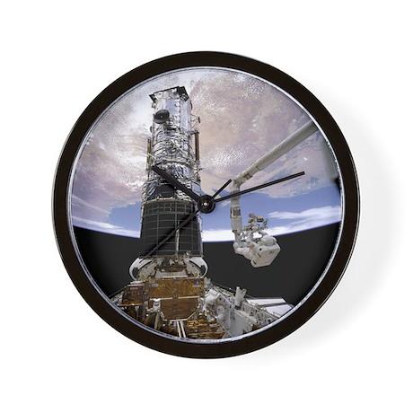 Hubble Docked Wall Clock