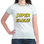 Super emilie Jr. Ringer T-Shirt