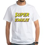 Super emilie White T-Shirt