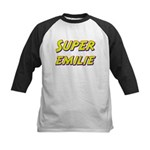 Super emilie Kids Baseball Jersey