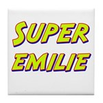 Super emilie Tile Coaster