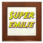 Super emilie Framed Tile