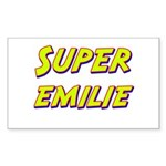 Super emilie Rectangle Sticker