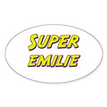 Super emilie Oval Sticker