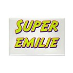 Super emilie Rectangle Magnet
