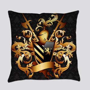 Medieval Coat of Arms Everyday Pillow