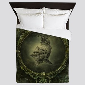 Knight Fantasy Queen Duvet