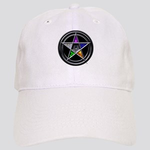 Pewter Element Pentacle Cap