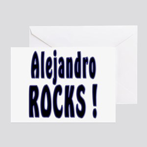 Alejandro Rocks ! Greeting Cards (Pk of 10)