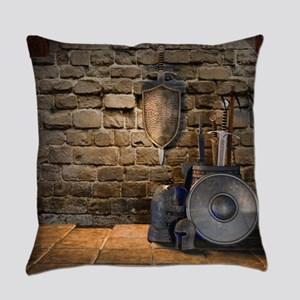 Medieval Weaponry Everyday Pillow