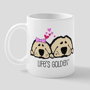 Life's Golden Valentine Mug
