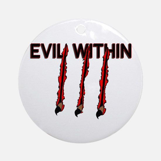 Evil Within Ornament (Round)