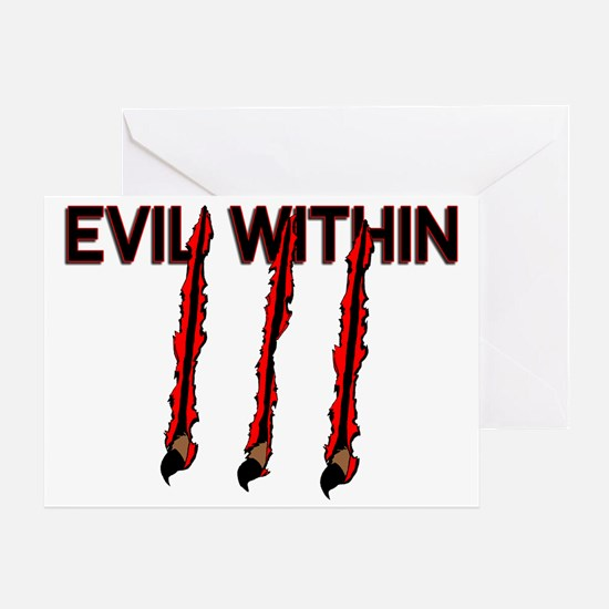 Evil Within Greeting Card