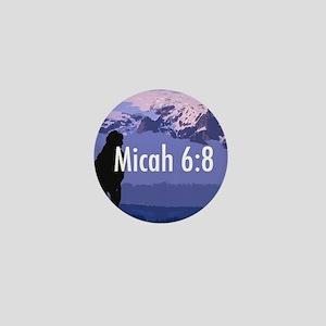 Micah 6:8 Mini Button