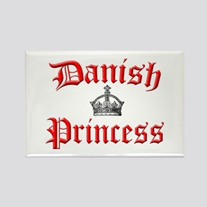 Danish Princess Rectangle Magnet