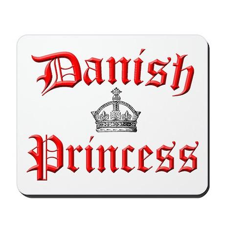 Danish Princess Mousepad