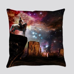 Native American Universe Everyday Pillow