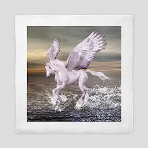 Pegasus-Unicorn Hybrid Queen Duvet