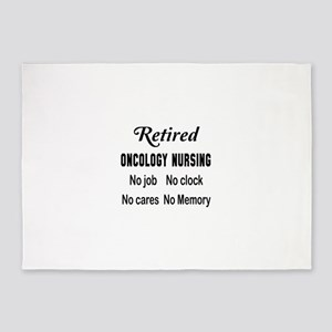 Retired Oncology nursing 5'x7'Area Rug
