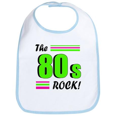 'The 80s Rock!' Bib