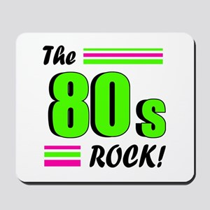 'The 80s Rock!' Mousepad