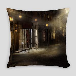 Victorian Street Everyday Pillow