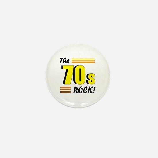 'The 70s Rock' Mini Button