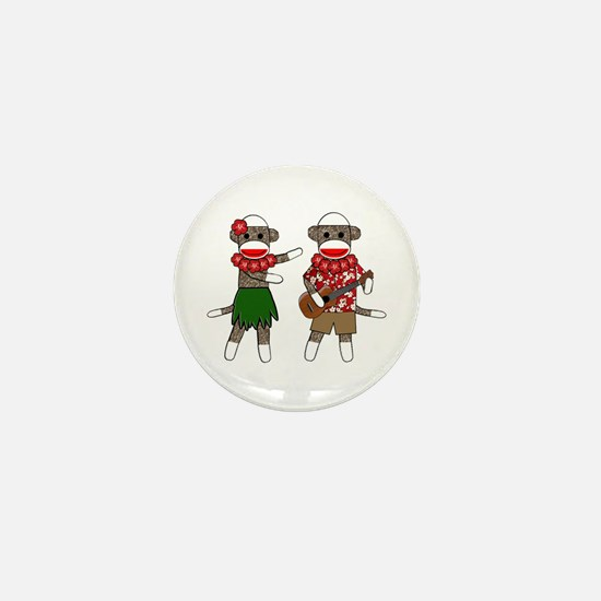 Unique Cute monkeys Mini Button
