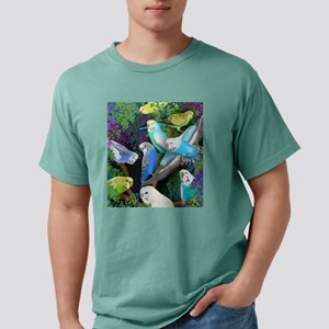 Budgerigars in Ferns T-Shirt