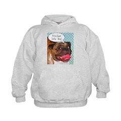 Comical Pug Hoodie