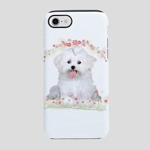 Malti Flowers iPhone 8/7 Tough Case