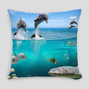 Marine Wildlife Everyday Pillow